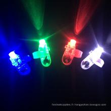 lumières menées de doigt de parti pour des enfants