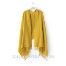 Модный новый дизайн твердый акрил пашмины шарф / шаль