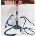 Four tube glass hookah