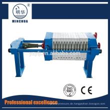 450 Hochwertige Platten- und Rahmenfilterpresse