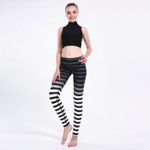 Zebra Print Yoga Spaot Polyester Leggings Pants 0237