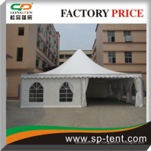 10mX10m Luxus-Party-Zelt mit Aluminium-Rahmen und transparente Wand