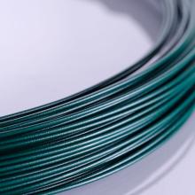 China fornecer fio revestido de PVC verde baixo custo
