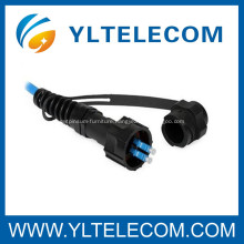 FullAXS fier optic patch cord with 4.8mm cable SM bend insensitive fiber / IP67 / 4G