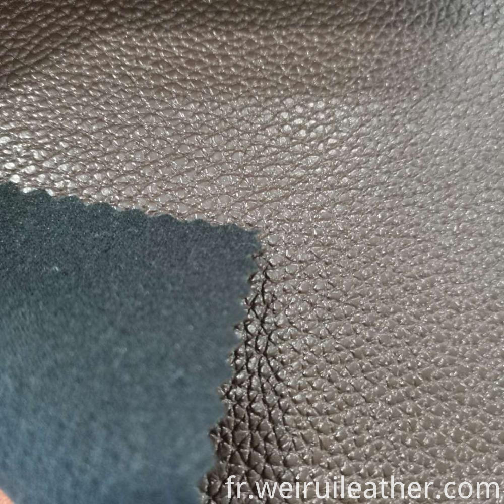 0 8mm Lychee Grain Pvc Leather