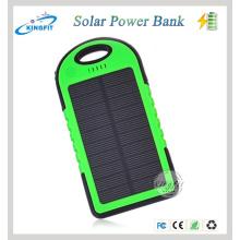2016 Carregador novo do banco da energia solar 5000mAh