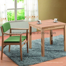 Commerical Wood Restaurant Dining Table and Chair with Arm (SP-CT735)