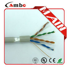 1000ft CMP solid Blue 24awg cat5e ftp cable FTP 4x2x24AWG