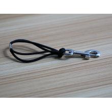 China supplier wholesale simple black rubber bracelet clasps