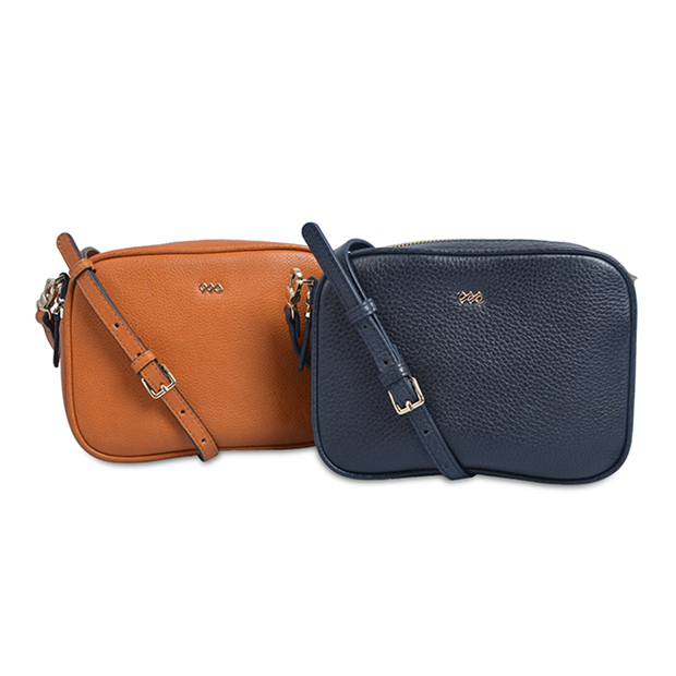 Elegant Genuine Leather Retro Crossbody Bags with handle