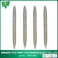 Slim Stainless Steel Advertising Pen Set