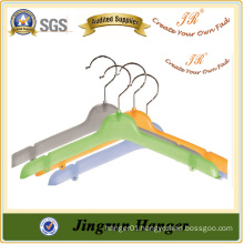 Excllect Quality Clothing Hanger Colored Plastic Hanger for Sweater