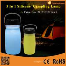 Portable Solar Powered Folding LED Camping Lantern