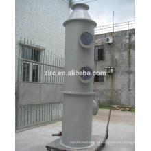 Purificador de GRP / FRP para limpeza de gases residuais