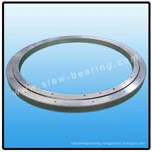 Single Row Crossed Roller Slewing Bearing Without Gear