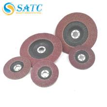 Venda quente & alta qualidade 100mm disco flap abrasivo para aço inoxidável com Long Service Life