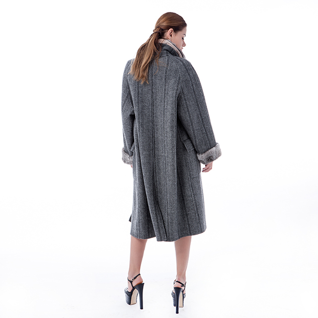 New fashion of cashmere overcoat