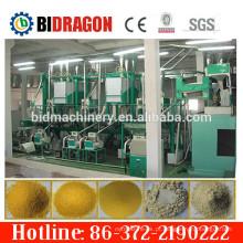 Máquina de moagem de grão de capacidade diferente para planta de farinha