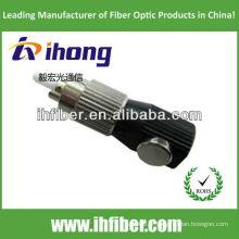 Adaptateur fibre fibre optique rond type avec boîtier métallique