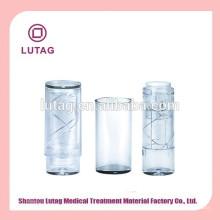 Limpar o recipiente de tubo plástico embalagens de cosméticos fábrica labial Stick