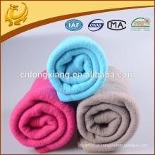 Fabricado em tecido coreano China Algodão e mistura de poliéster Fabricantes de manta de inverno por atacado
