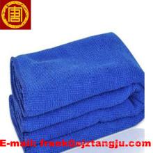 fabricante branqueada 100% toalha de microfibra de algodão