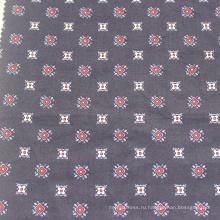 Окрашенная тканая набивная 100% хлопковая сатиновая ткань
