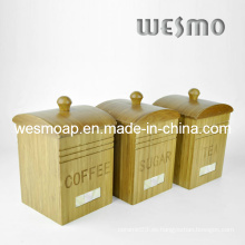 Café de bambú / Azúcar / Té Contenedor