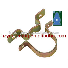 2015 new electric power Line hardware connect fasten construction clamp accessorydouble ear clamp metal electrical cable clamp