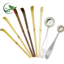 Purple Bamboo Matcha Scoop ( Chashaku ) Bamboo Spoon