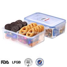 L zum Mitnehmen aus Kunststoff Lunchbox für Lebensmittel mit Teilern