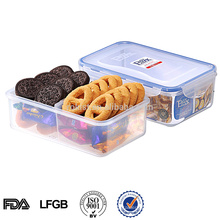 EASYLOCK Boîte à lunch en plastique contenant des aliments chinois avec compartiments