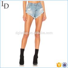 Cortocircuitos calientes de la playa del lavado directo de fábrica de los pantalones cortos de los pantalones cortos calientes