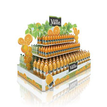 Pop-Karton-Display für Lebensmittel, Dumpbin Display Stand