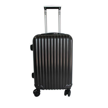 Geborstelde textuur Double Spinner ABS pc-bagage