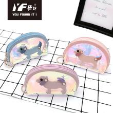 Dog style laser TPU coin purse