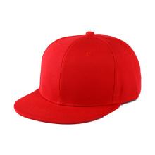 Modèle de chapeau de snapback blanc fait sur commande de 6 panneaux
