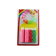Cadeau de fête d'anniversaire pour enfants New Style Sprial Candle