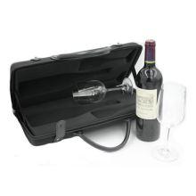 Eco-friendly rectangle side bags rigid martini glass in box