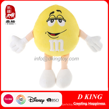 Customized Plush Stuffed Toys M&M′s Promotional Gift for Kids
