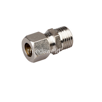ชุดอุปกรณ์ PC Brass Pneumatic Joint Fittings