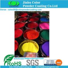 Антикоррозионная электростатическая краска для нанесения эпоксидного порошкового покрытия