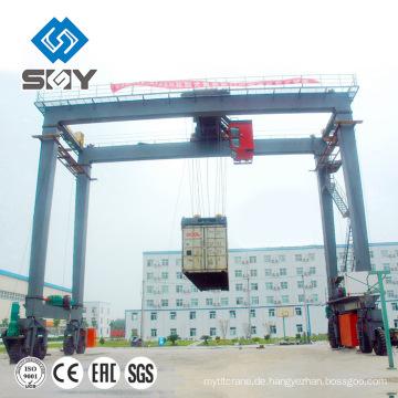 Containertragwagen RTG Portalkran