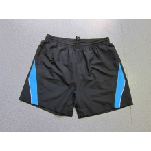 Yj-3026 Hommes Microfibre Drawstring Shorts de piste Elastic Waist Gym Wear Hommes