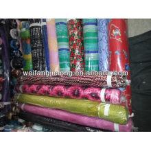 100% rayon printed fabric in stock