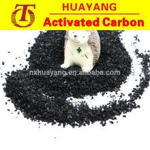 8 x 30 de carvão ativado à base de coco para extração de ouro