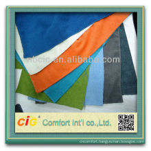 Fashion new design home products textile polyester OKEO-100 dyeing chenille bright colored fabric for sofa