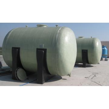 Vertikaler oder horizontaler GFK-Tank