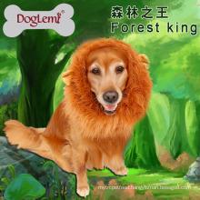 Large Pet Dog Cat Lion Wigs Mane Hair Festival Party Fancy Dress Clothes Costume