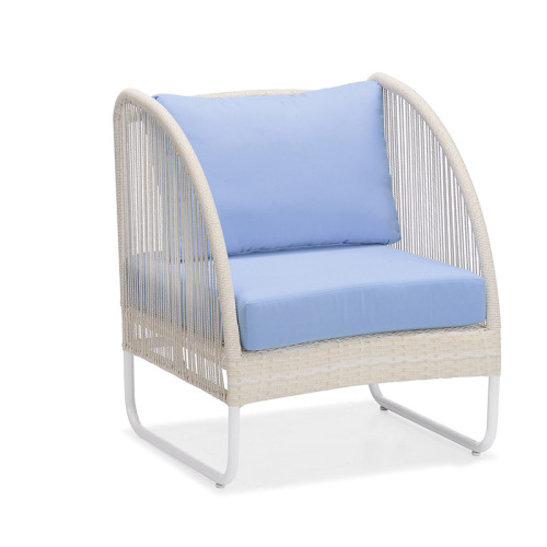Rope Outdoor Sofa Wicker Patio Sofa Furniture